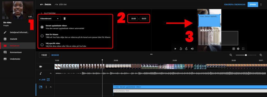 Tips för att redigera video på youtube