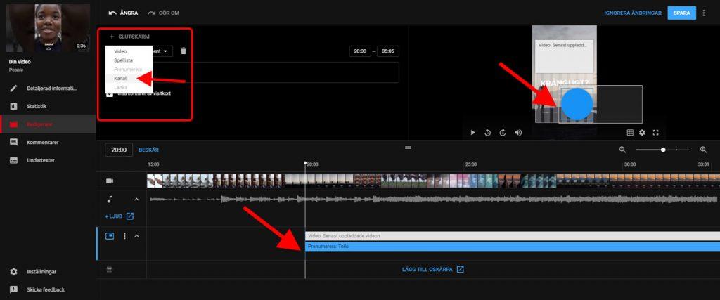 Hur du kan redigera video på youtube