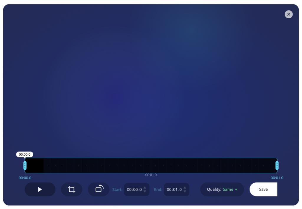 Online enkel videoredigering